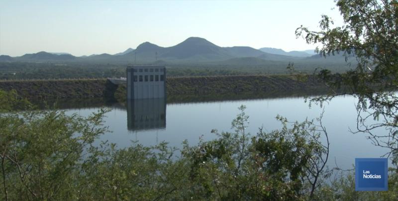 Al 54% de su capacidad las presas de la región
