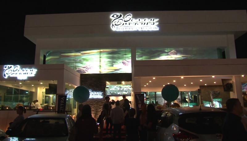 """Inauguran Restaurant, Bar  y sushi """"Seven Dreams"""""""