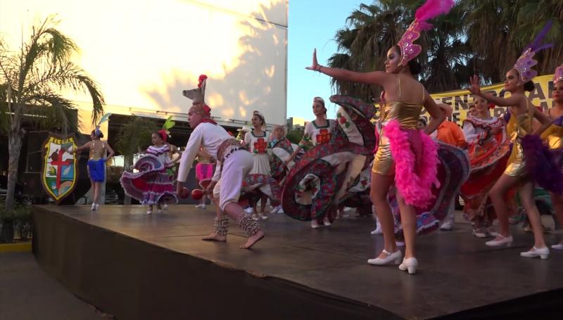 Danza sinaloense en el Noveno Encuentro Artesanal