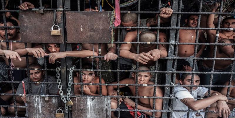 Un centenar de mareros detenidos en El Salvador por extorsión y otros delitos