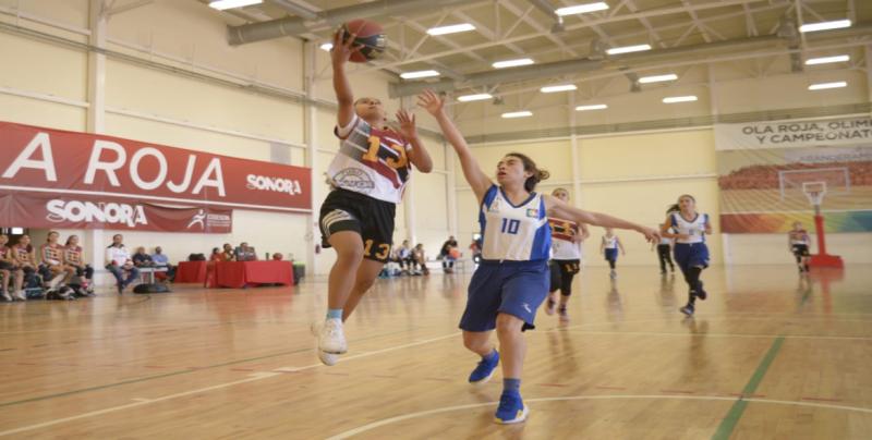 Sinaloa cierra con tres plazas más en baloncesto en Olimpiada Regional