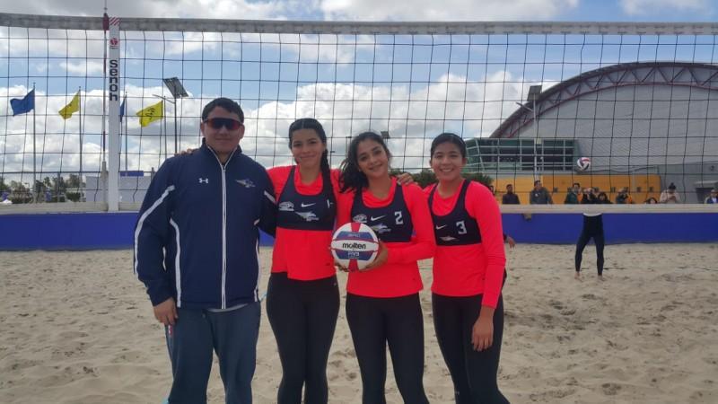 UAS domina en Voly de playa en Universiada Regional