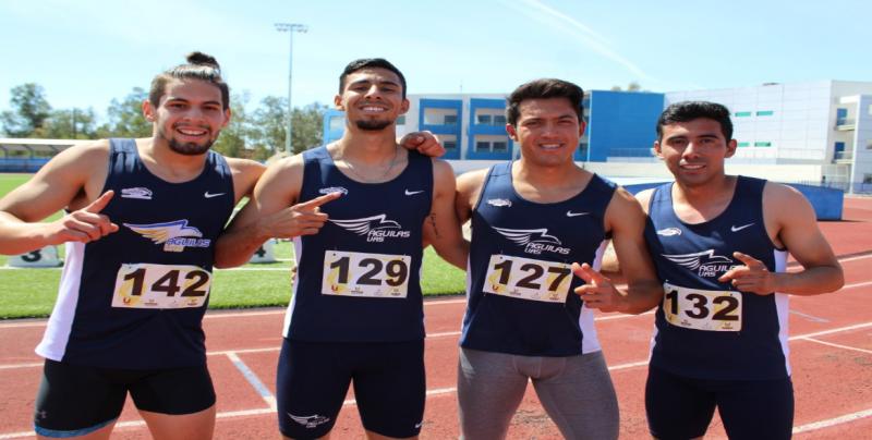 UAS campeones en la Universiada Regional en  4X100