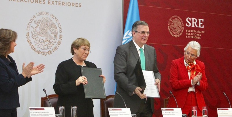 México firma con la ONU asesoría para encontrar a desaparecidos de Ayotzinapa