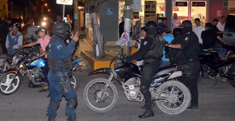 Realizan operativo para concientizar a motociclistas en Villa Unión