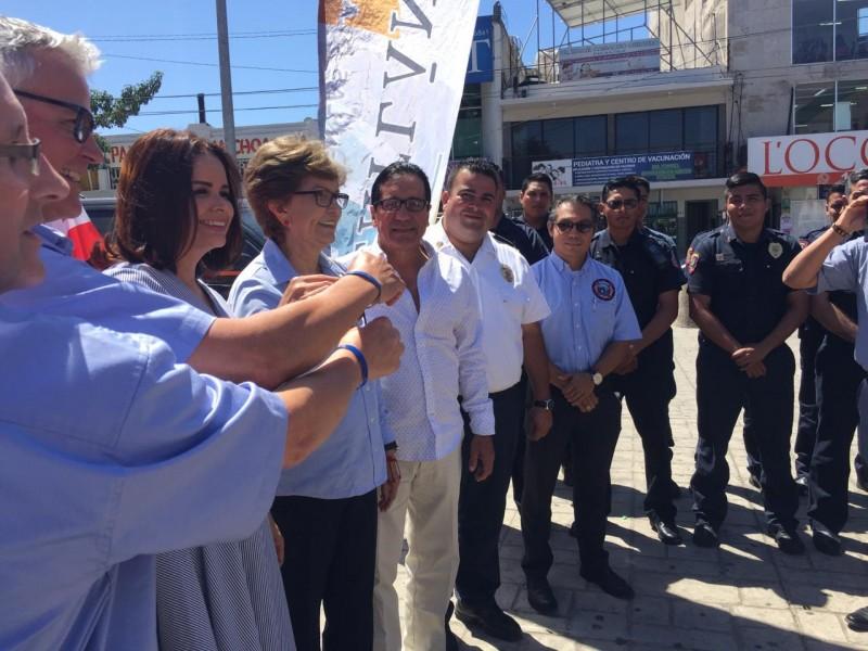 Rotarios de Canadá entregan unidades de auxilio y rescate a Mazatlán