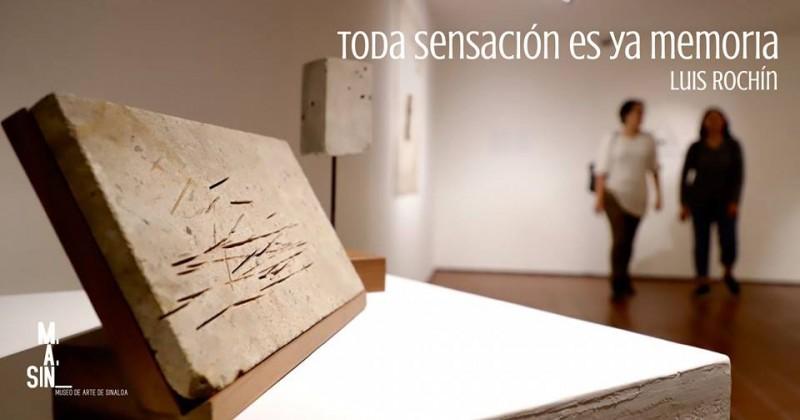 Conversatorio  con el artista mazatleco Luis Rochín