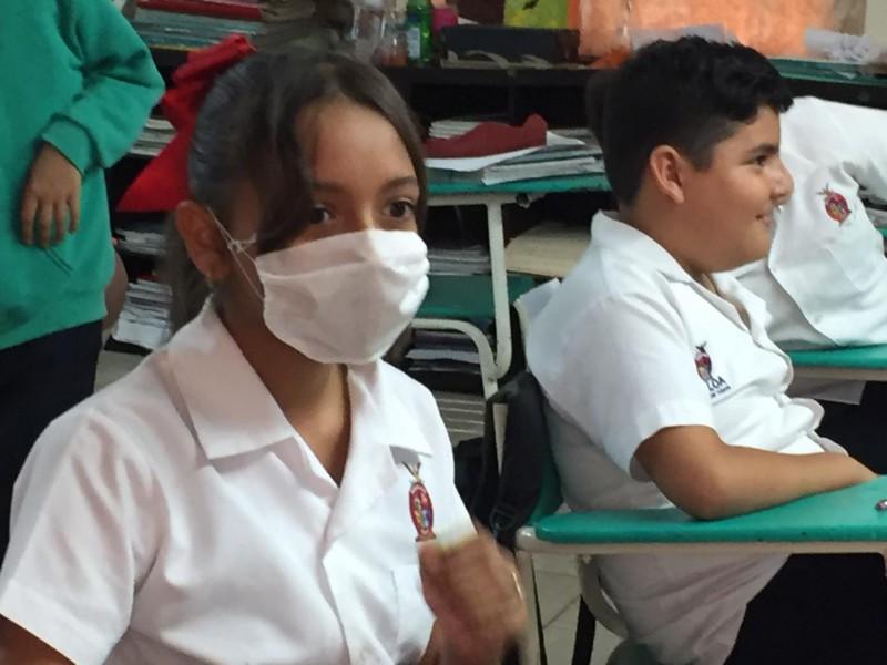 Fomentan acciones preventivas en planteles escolares: Sidharta