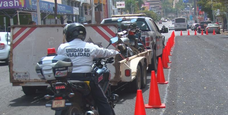 Continua Operativo en el Centro de Culiacán