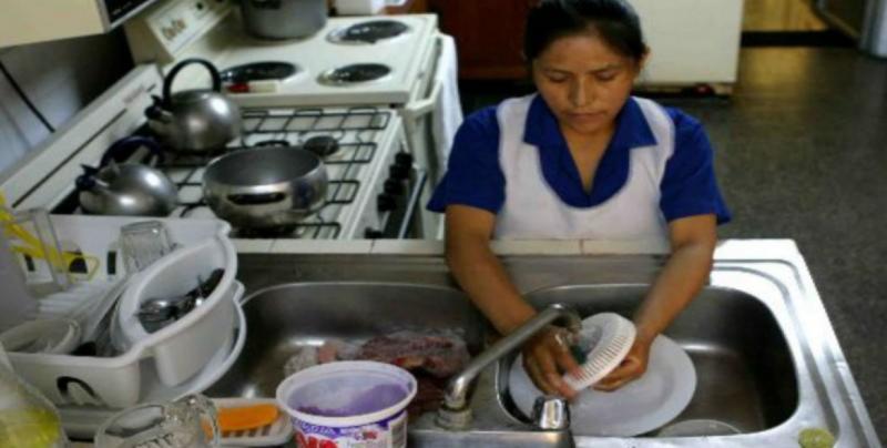 7 trabajadoras domésticas se han afiliado al IMSS
