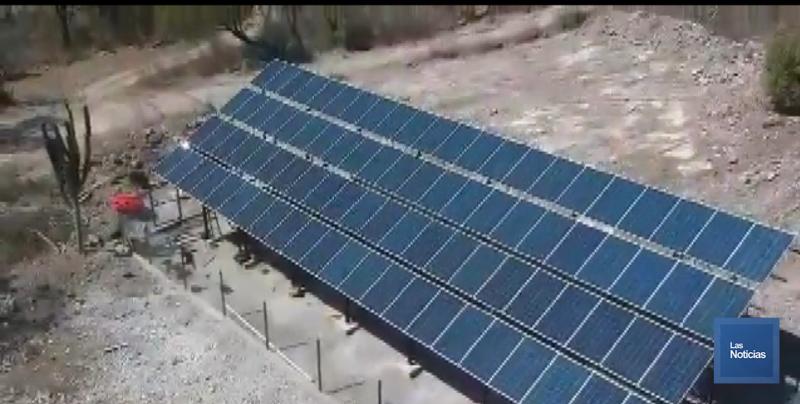 Instalan en Álamos equipos fotovoltaicos