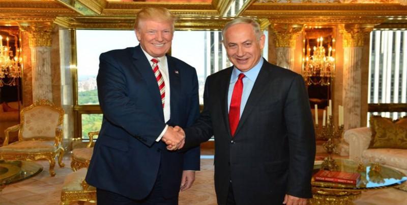 """Netanyahu agradece a Trump su """"tremendo apoyo"""" a Israel"""