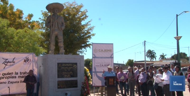 Conmemoran cien años del asesinato del General Emiliano Zapata