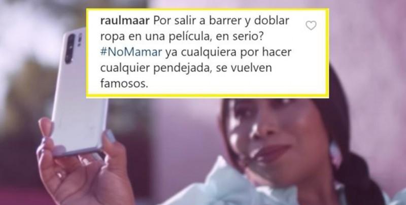 Insultan a Yalitza Aparicio por aparecer en comercial de Huawei y Motorola la defiende