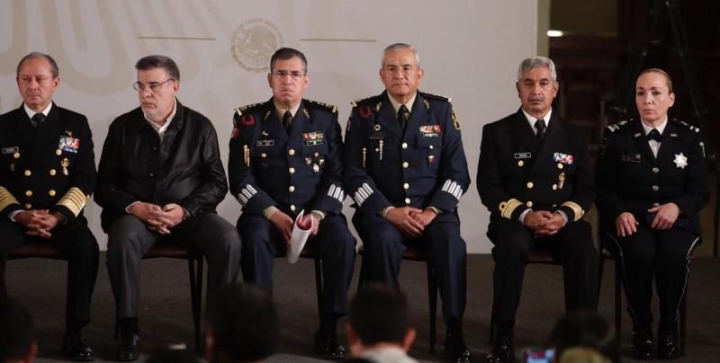 Dos militares y un marino retirados encabezarán la Guardia Nacional de México