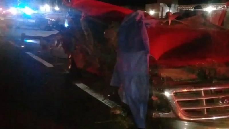 Choque en caseta de Rosario, deja a un conductor sin vida