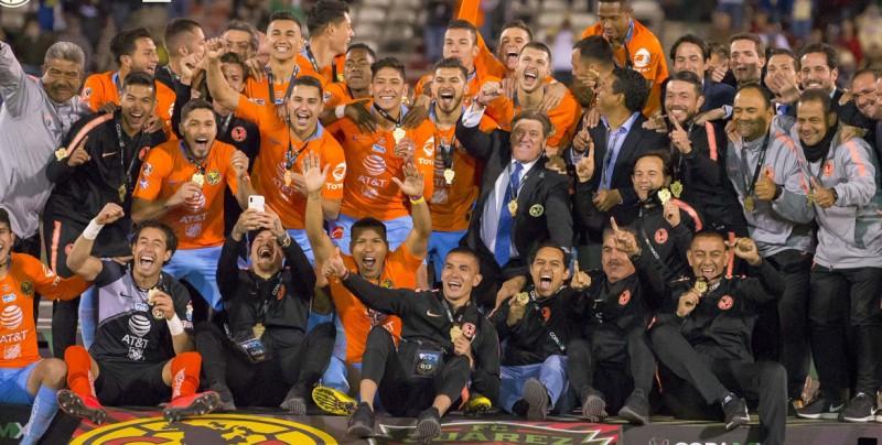 América gana el título de la Copa Mx con un gol del argentino Aguilera