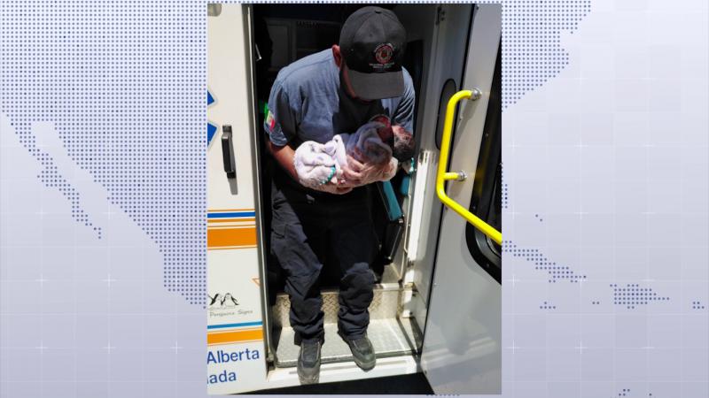 Bomberos veteranos atienden parto en Villa Unión