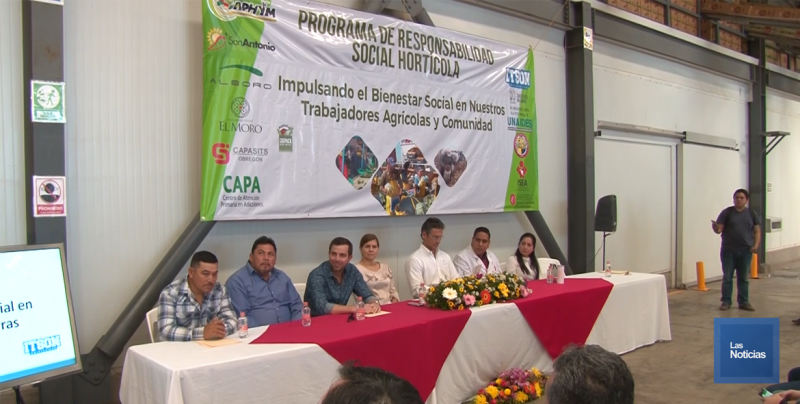 Arrancó programa de Responsabilidad Social para trabajadores agrícolas