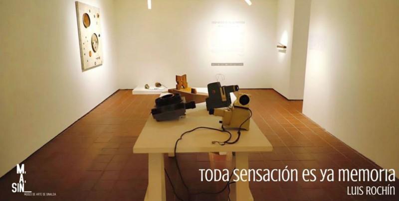 Hoy Luis Rochín, expondrá su obra en el MASIN