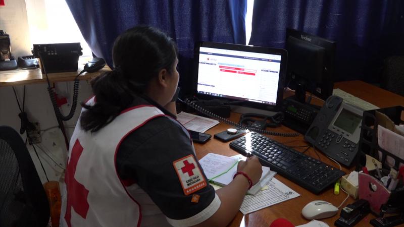 Cruz Roja mejora tiempos de atención de emergencias