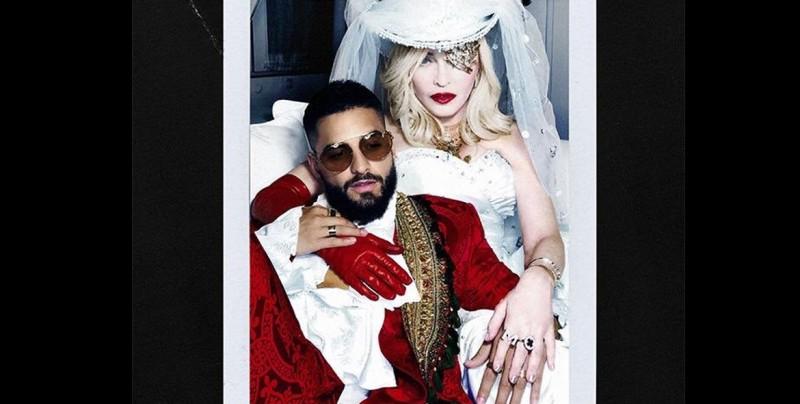 Madonna anuncia su colaboración con Maluma