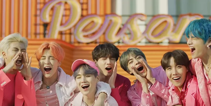 BTS rompe récord en Youtube con video musical 'Boy with Luv""