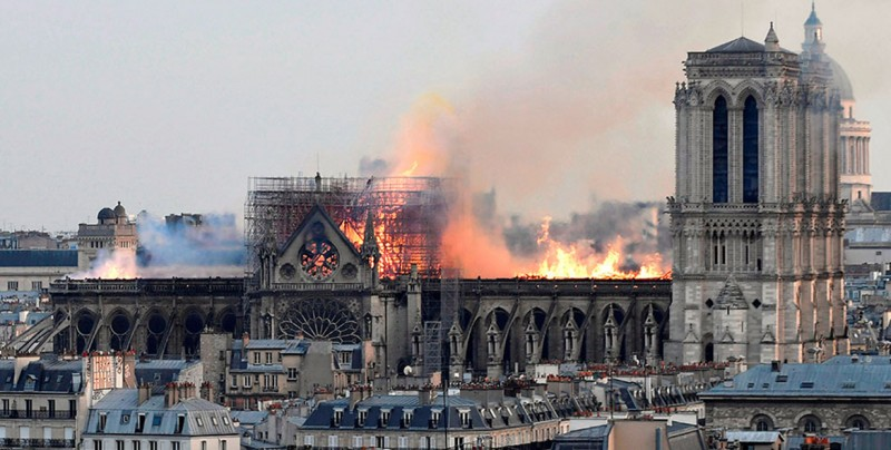 México ofrece apoyo para la reconstrucción de la catedral de Notre Dame