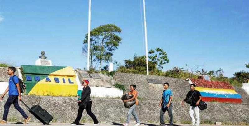 """Venezuela reabrirá """"lo antes posible"""" la frontera con Brasil"""