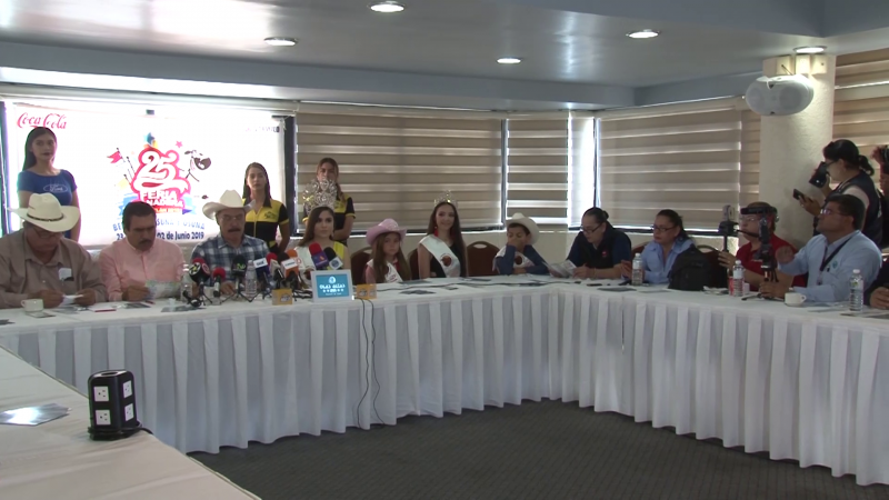 Celebran la XXV Edición de la Feria Ganadera de Mazatlán 2019