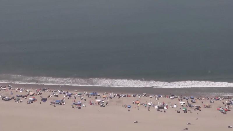 Piden a vacacionistas no dejar basura en las playas