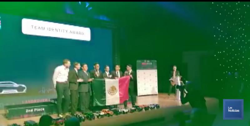 Alumnos del COBACH ganan competencia Land Rover 4x4