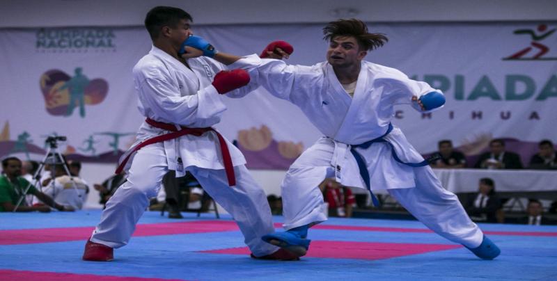 Sinaloa califica en 26 pruebas en karate a la Olimpiada Nacional 2019