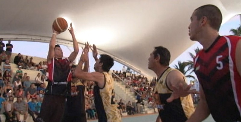 Buenos encuentros en Torneo Street Basket Ball TVP