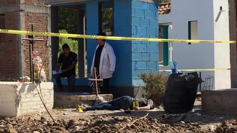 """Encuentran a persona asesinada al interior del panteón de la """"21 de Marzo"""""""