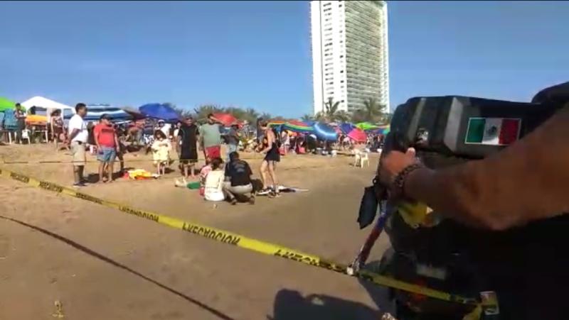Muere persona ahogada en playa cerritos