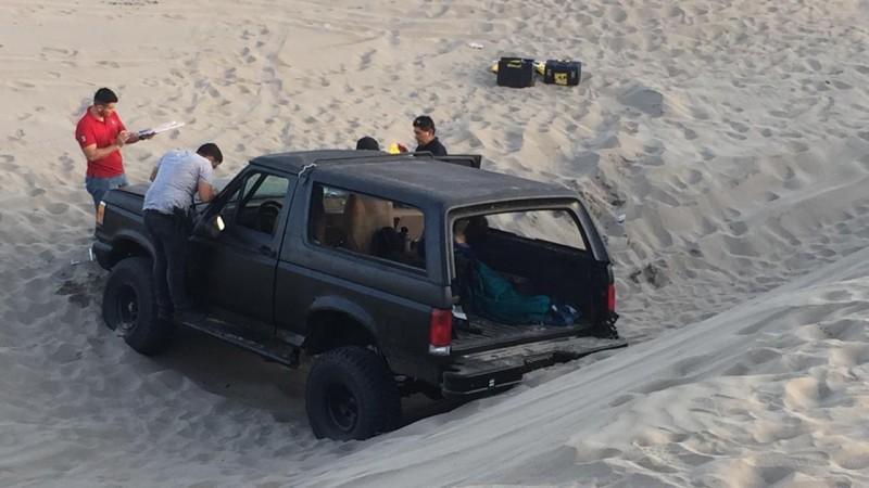 Una persona muerta y cinco heridas tras accidente en las dunas de El Tambor