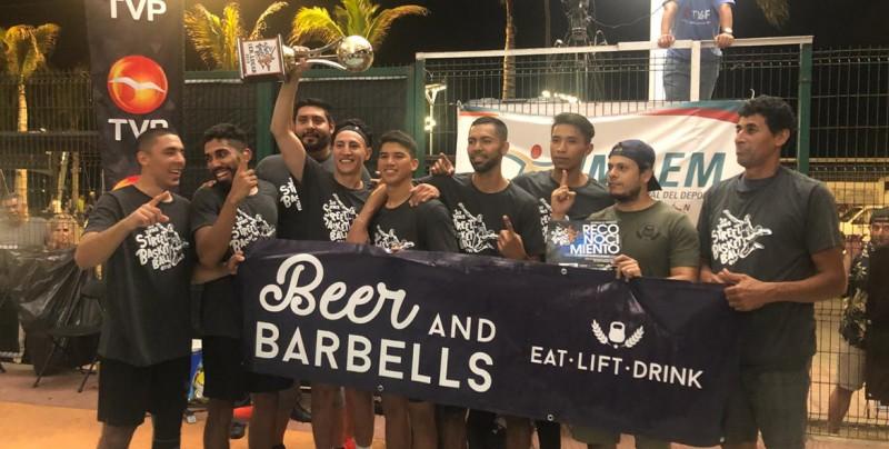 Beer and Barbells campeones del Torneo Street Basket Ball TVP