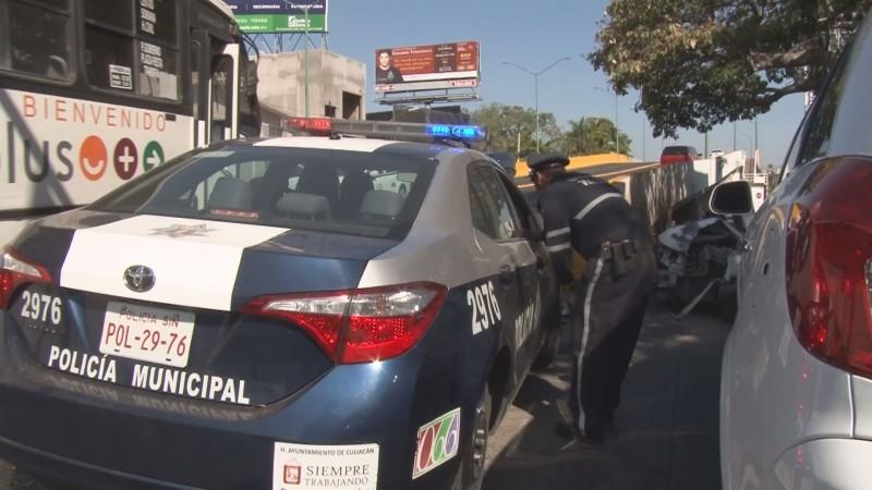 12 accidentes viales se registran en Culiacán en días santos