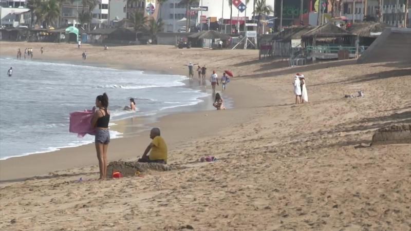 Ven playas más limpias esta Semana Santa 2019 en Mazatlán