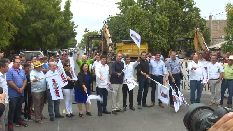 Inicia reparación de colectores sanitarios en Ahome