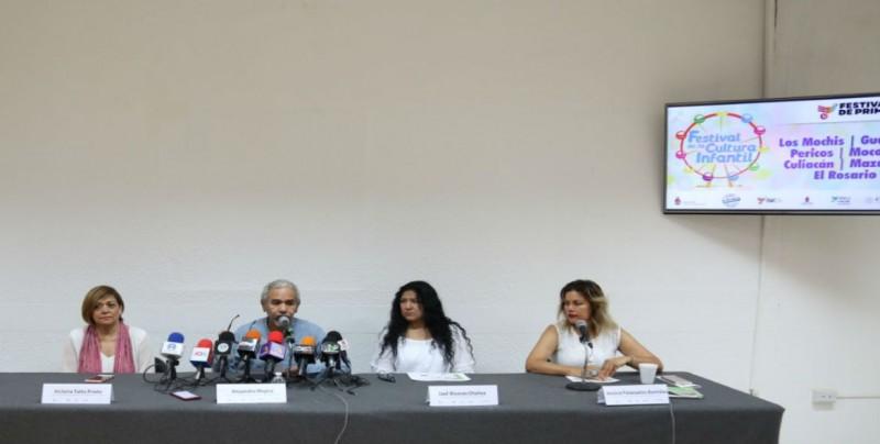 Anuncian Festival de la Cultura  Infantil en seis municipios de Sinaloa