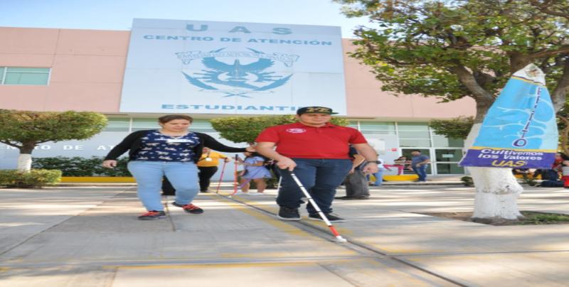 Sigue la UAS apoyando a jóvenes con discapacidad