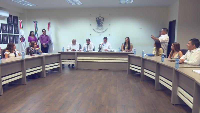 Entrega el alcalde ante cabildo el plan municipal de desarrollo