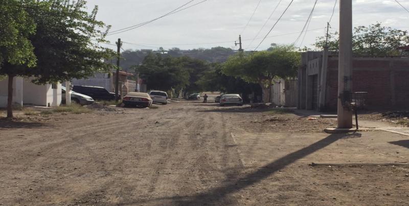 Calle San Pedro piden que sea pavimentada