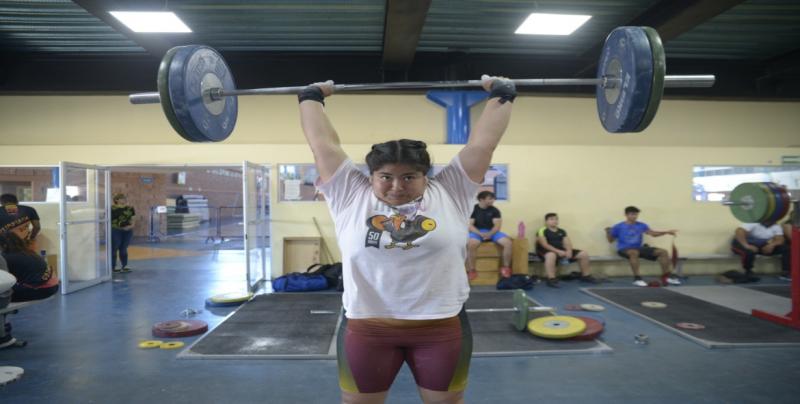 La disciplina de Levantamiento de Pesas Sinaloa se prepara para la Olimpiada Nacional 2019