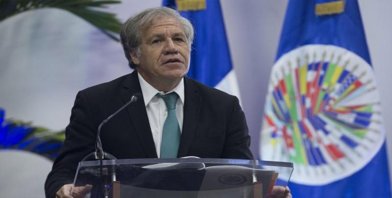"""Luis Almagro pide """"madurez"""" a la oposición y al Gobierno en Nicaragua"""
