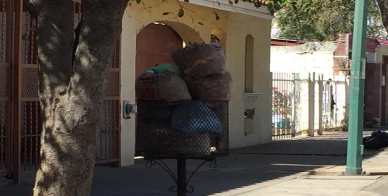 No pasa el camión de la basura por Infonavit Las Flores