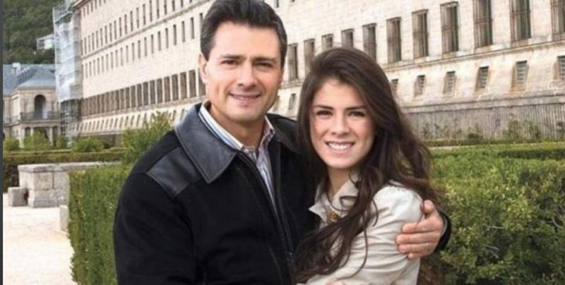 """Hija de Peña Nieto dice que su padre está """"feliz"""" y descansando"""