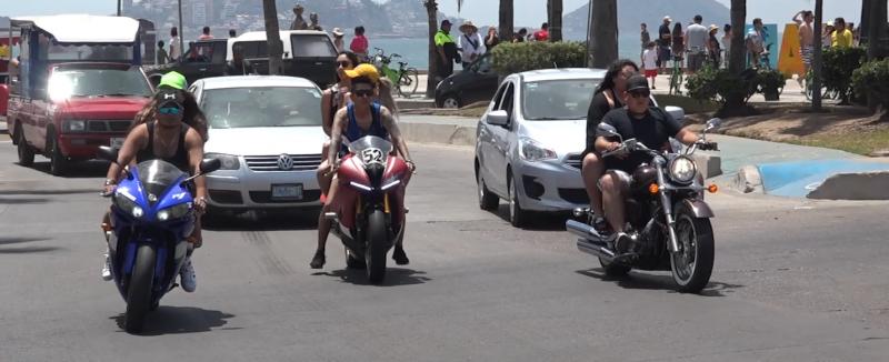 """Múltiples caravanas se esperan para """"La Legendaria Semana de la Moto"""""""